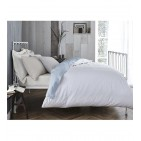 Bianca 100% Cotton Double Fitted Sheet Extra Deep 35cm