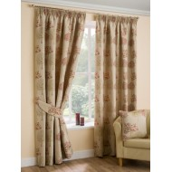 "Arden Chintz 3"" Tape - Pencil Pleat Curtains"
