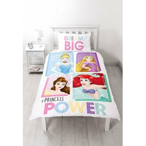 Disney Princess Brave Single Panel Reversible Duvet Set