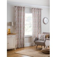 Everley Cinnamon Eyelet Curtains