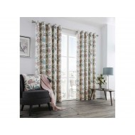 Karsten Blush Eyelet Curtains
