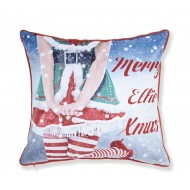 Mr & Mrs Elfie Cushion Cover