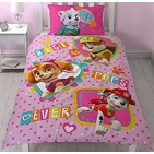 Paw Patrol Forever Single Panel Reversible Duvet Set