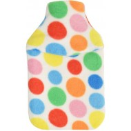Spotted Colourful Hot Water Bottle