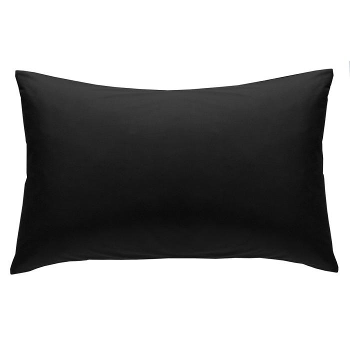 Black Non Iron Plain Dyed Percale