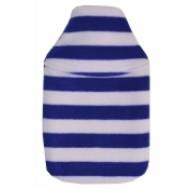 Blue Striped Hot Water Bottle