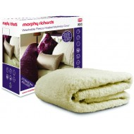 Morphy Richards Washable Fleece Heated Mattress Cover
