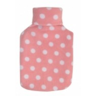 Spotted Pink Hot Water Bottle